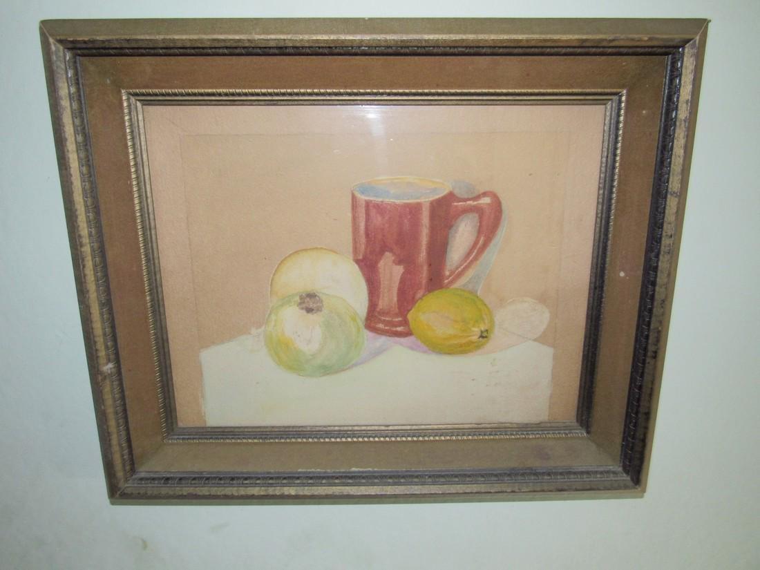 2 Watercolors Paintings - 2