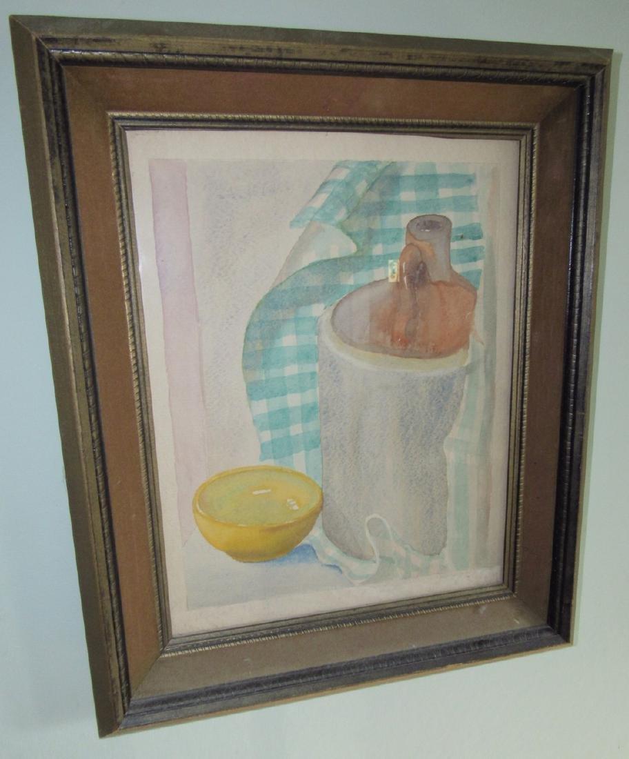 2 Watercolors Paintings - 3
