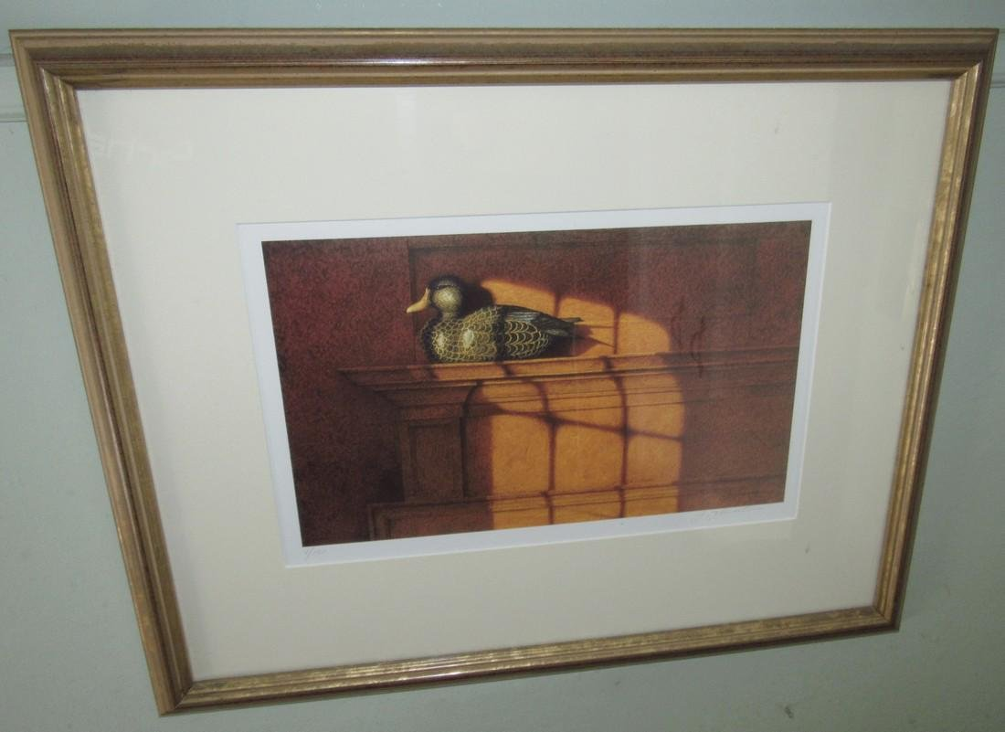 Signed & Numbered 8/150 Duck Decoy Print