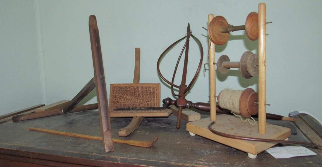 Flax Comb Spinning Wheel Parts Spool Holder