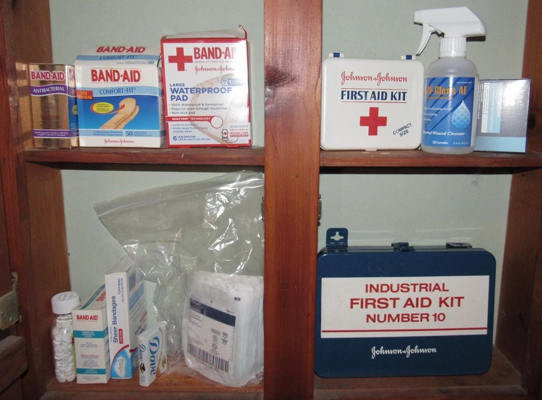 First Aid Box & Misc