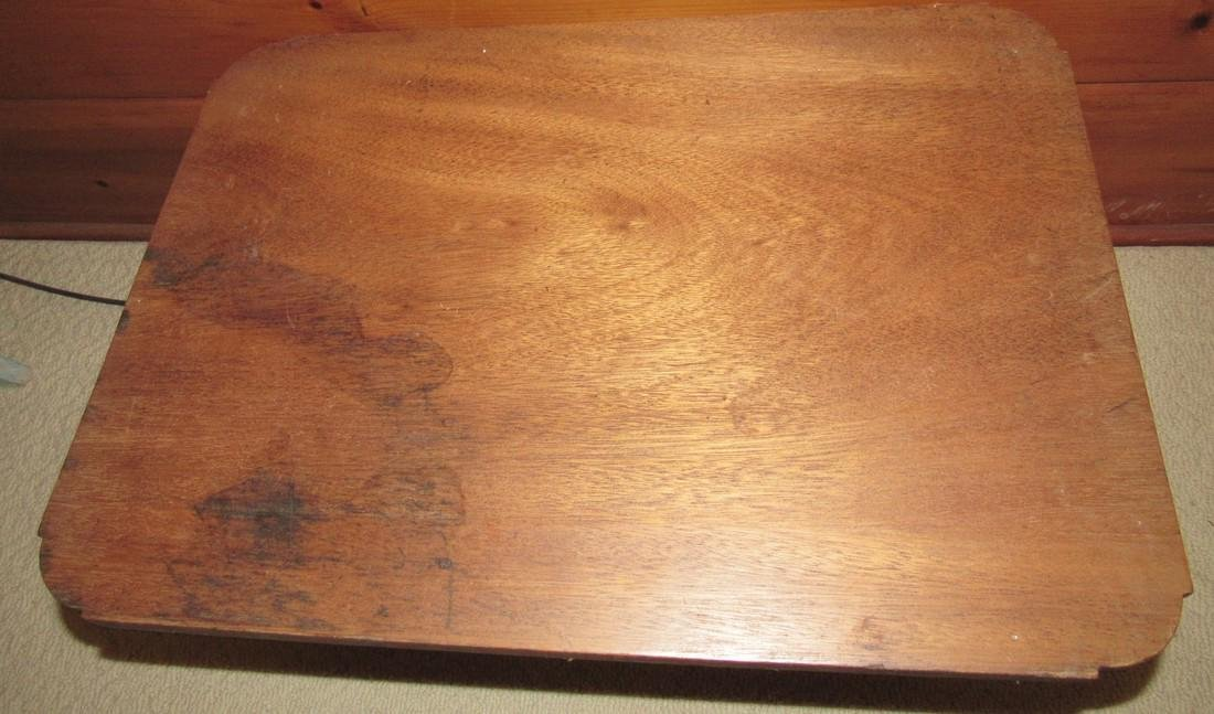 Table with Cast Iron Base - 3