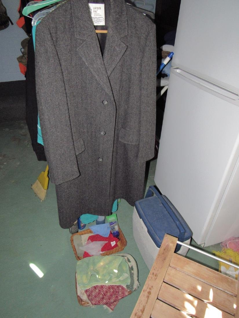 London Fog Jacket Laundry Room Contents
