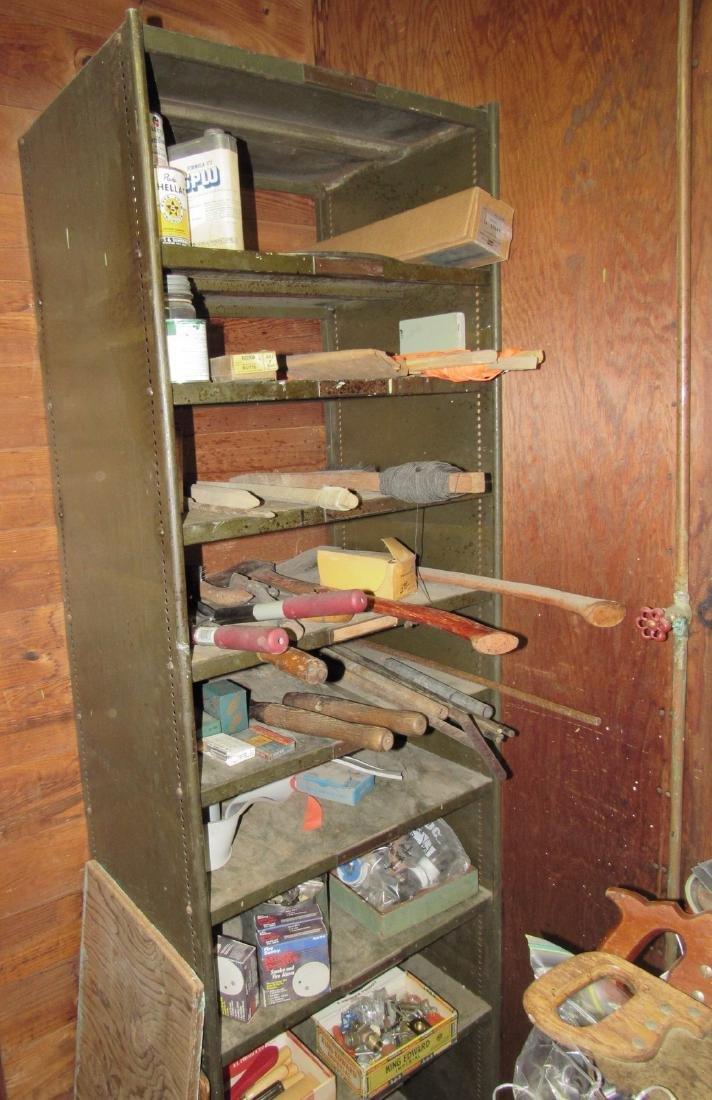 Shelf Hand Tools & Contents