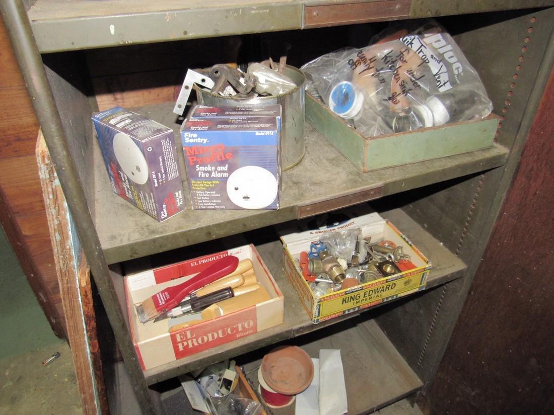 Shelf Hand Tools & Contents - 4