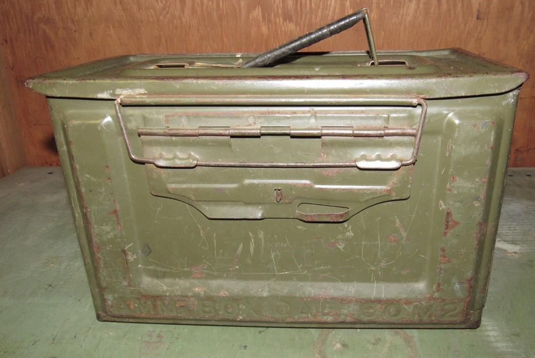 50 Cal. M2 Military Ammo Box