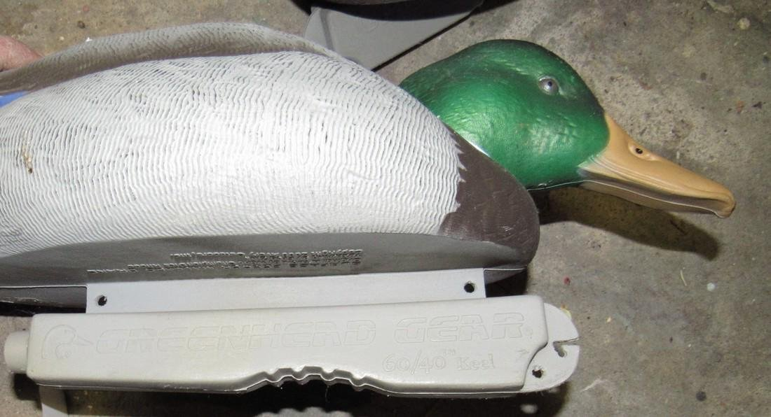 5 Green Head Gear Mallard Duck Hunting Decoys - 4
