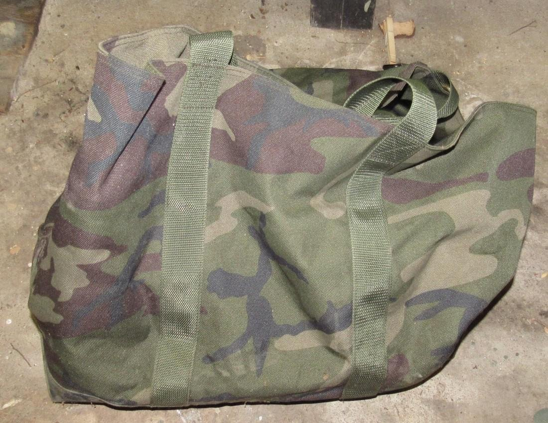 Bag Full of Hunting Decoy Weights Anchors & Misc