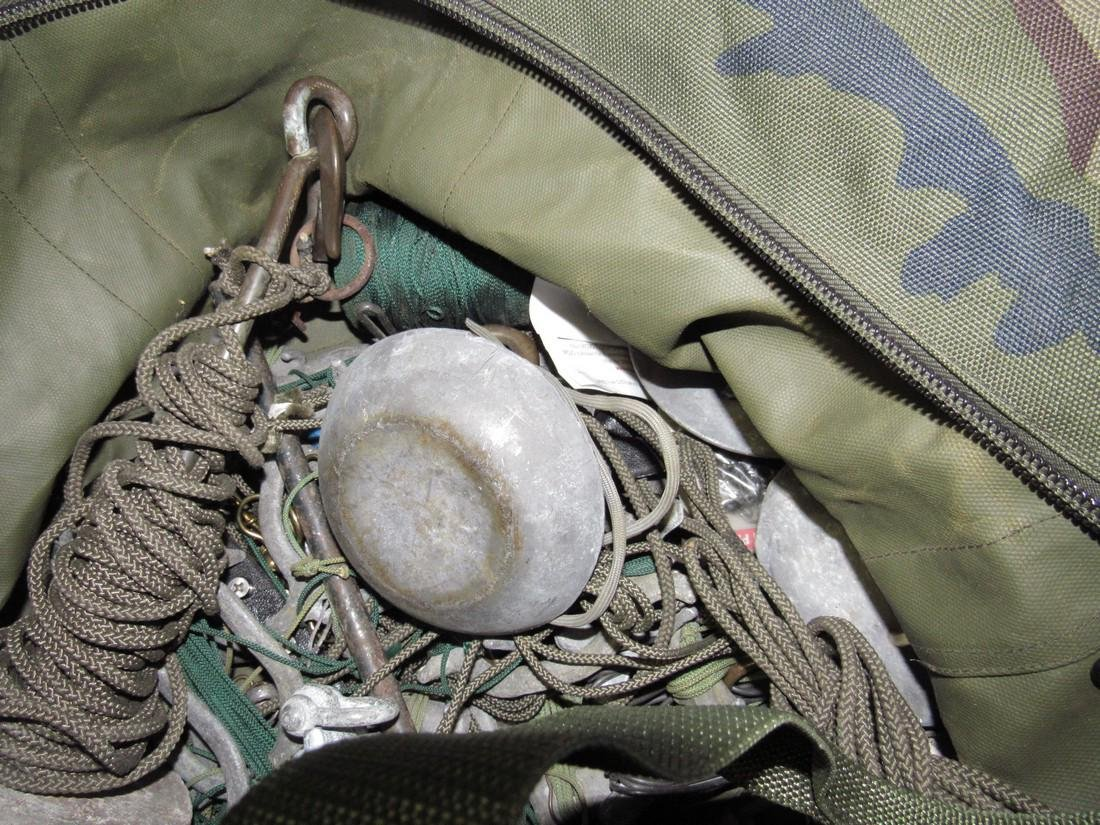 Bag Full of Hunting Decoy Weights Anchors & Misc - 4