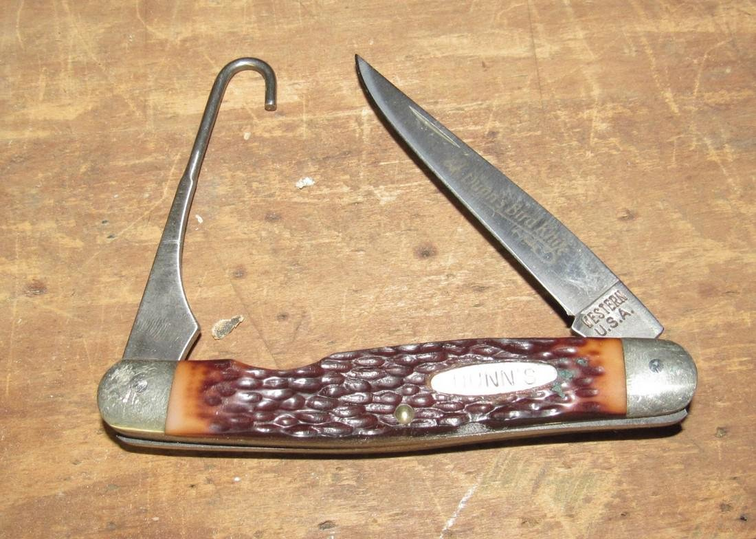 Western Dunn's Bird Pocket Knife