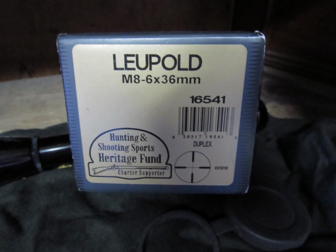 Leupold M8-6X Gun Hunting Scope - 4
