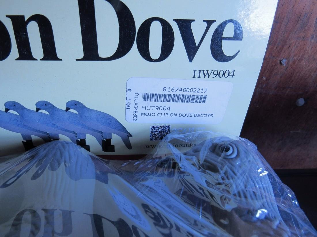 Mojo Clip On Dove Decoys - 3