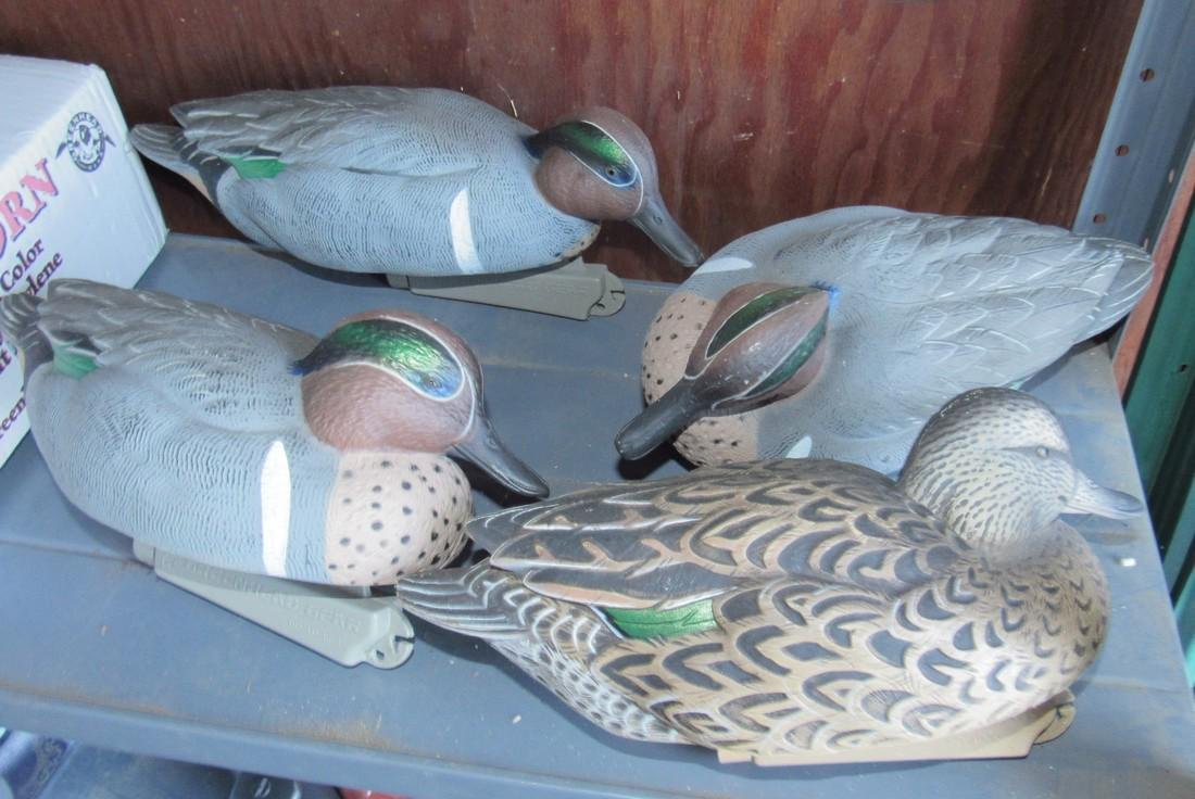 Greenhead Gear Winged Teal Drakes & Hen Decoys - 2