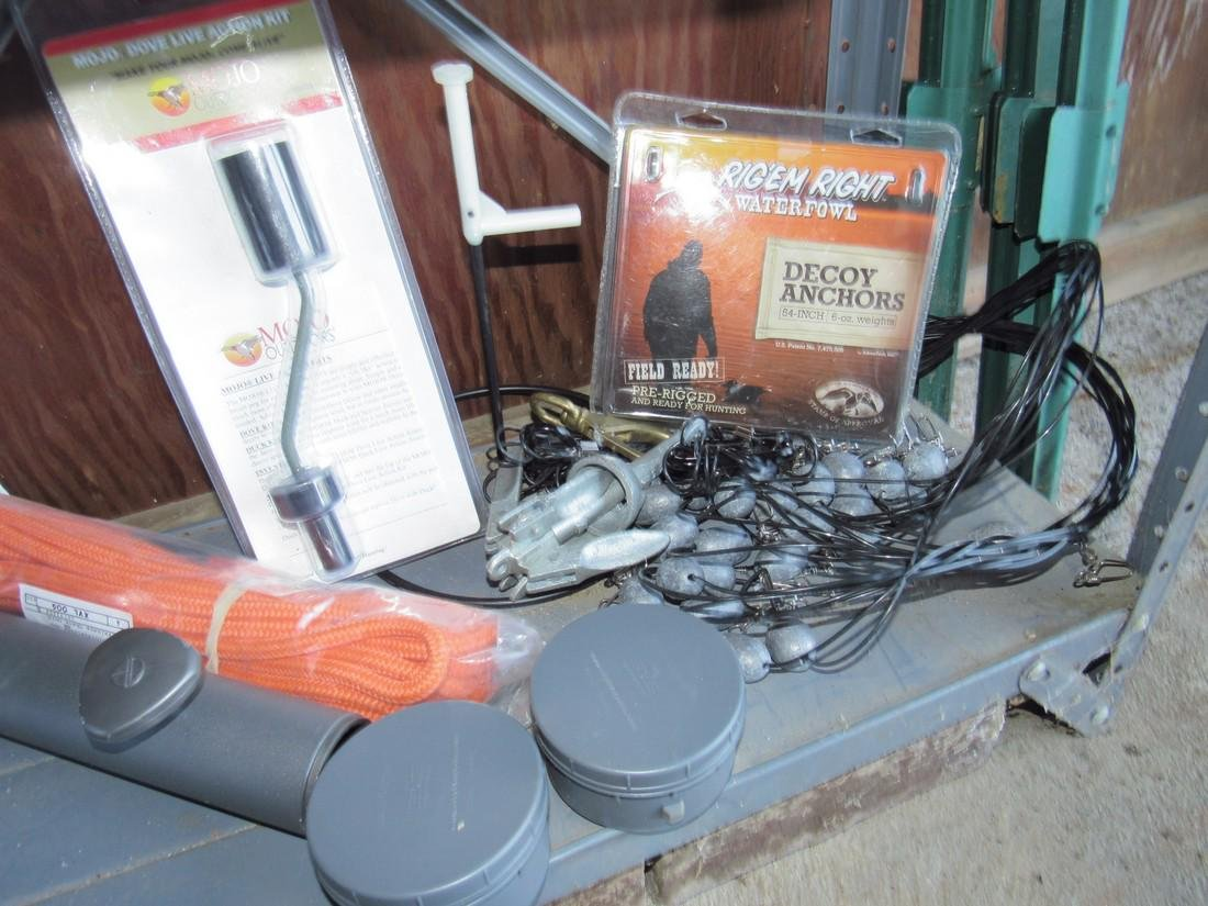Mojo Dove Action Quiver Magnet Jerk Rigs Decoy Anchors - 2