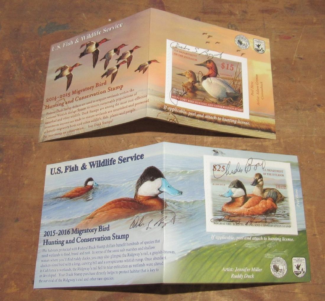 US Fish & Wildlife Duck Stamps