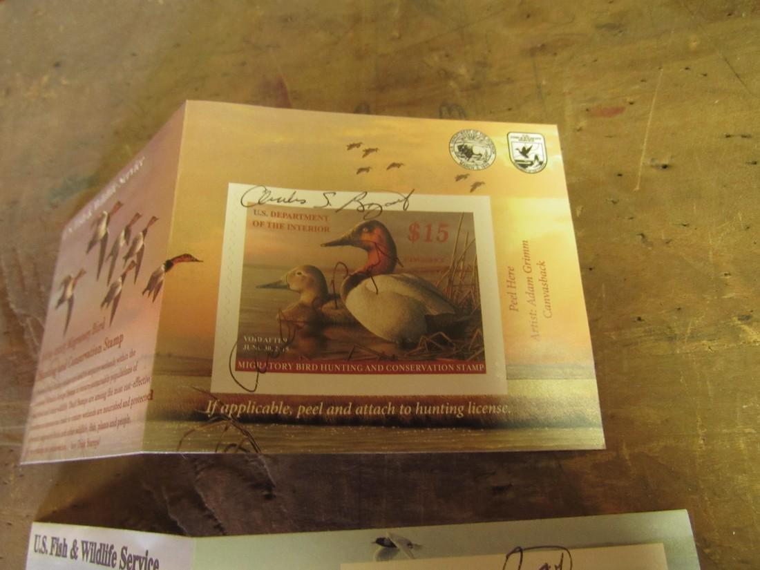 US Fish & Wildlife Duck Stamps - 2