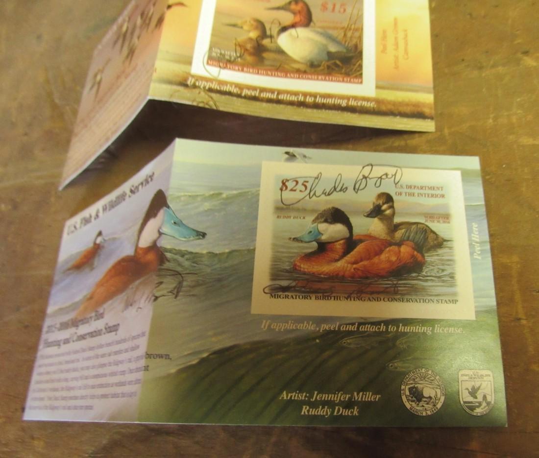 US Fish & Wildlife Duck Stamps - 3