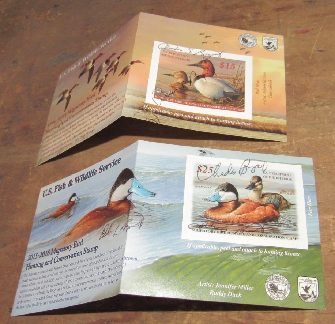 US Fish & Wildlife Duck Stamps - 4