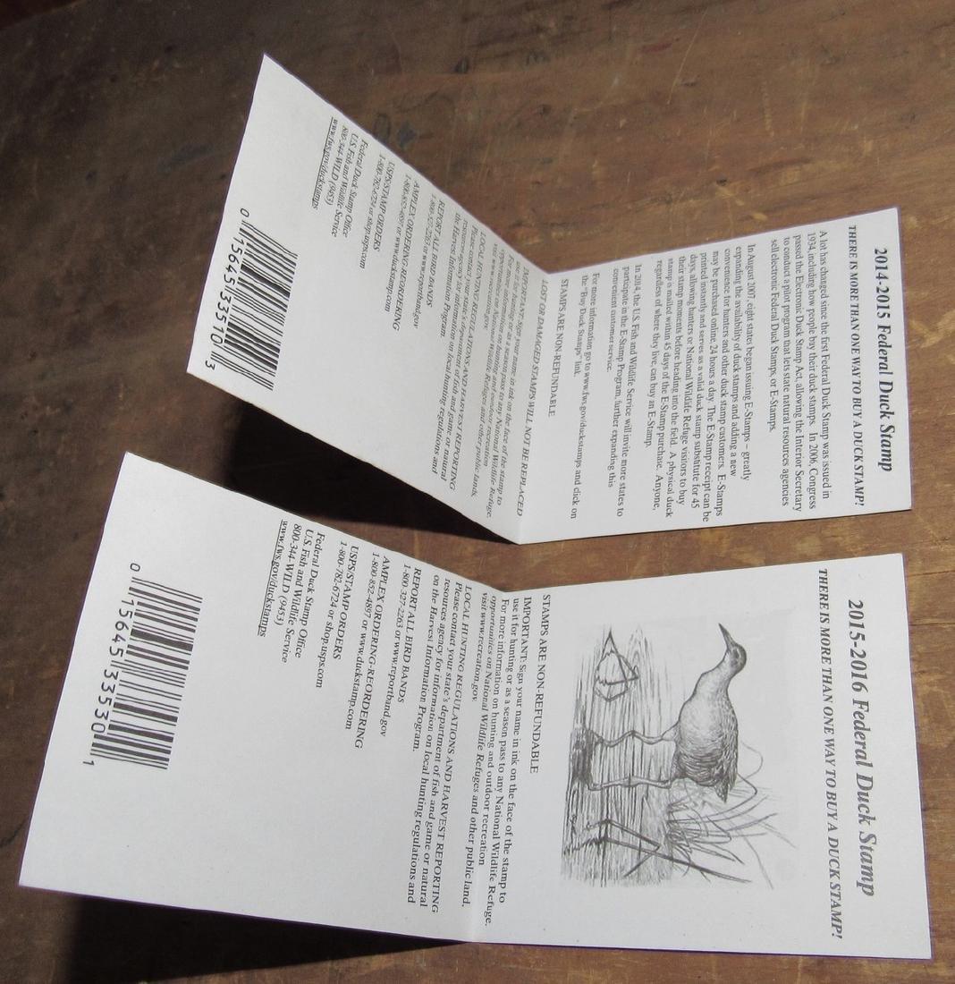 US Fish & Wildlife Duck Stamps - 5