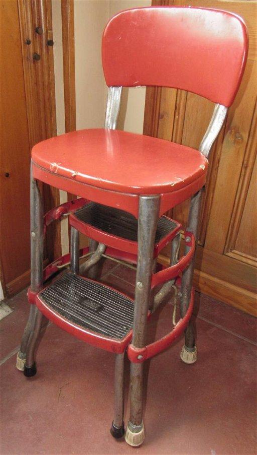 Astonishing Vintage Cosco Step Stool Ncnpc Chair Design For Home Ncnpcorg