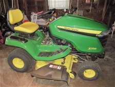 "John Deere X350 42"" Garden Tractor Riding Mower 2.3"