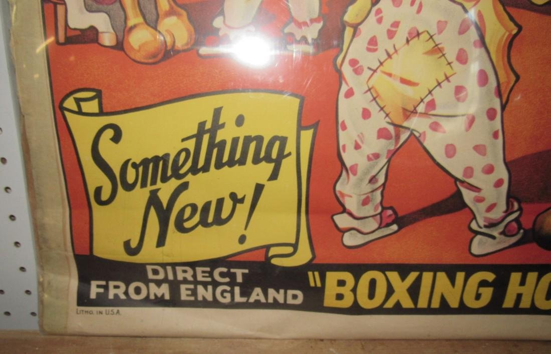 Cole Bro Circus Boxing Horse Poster - 2
