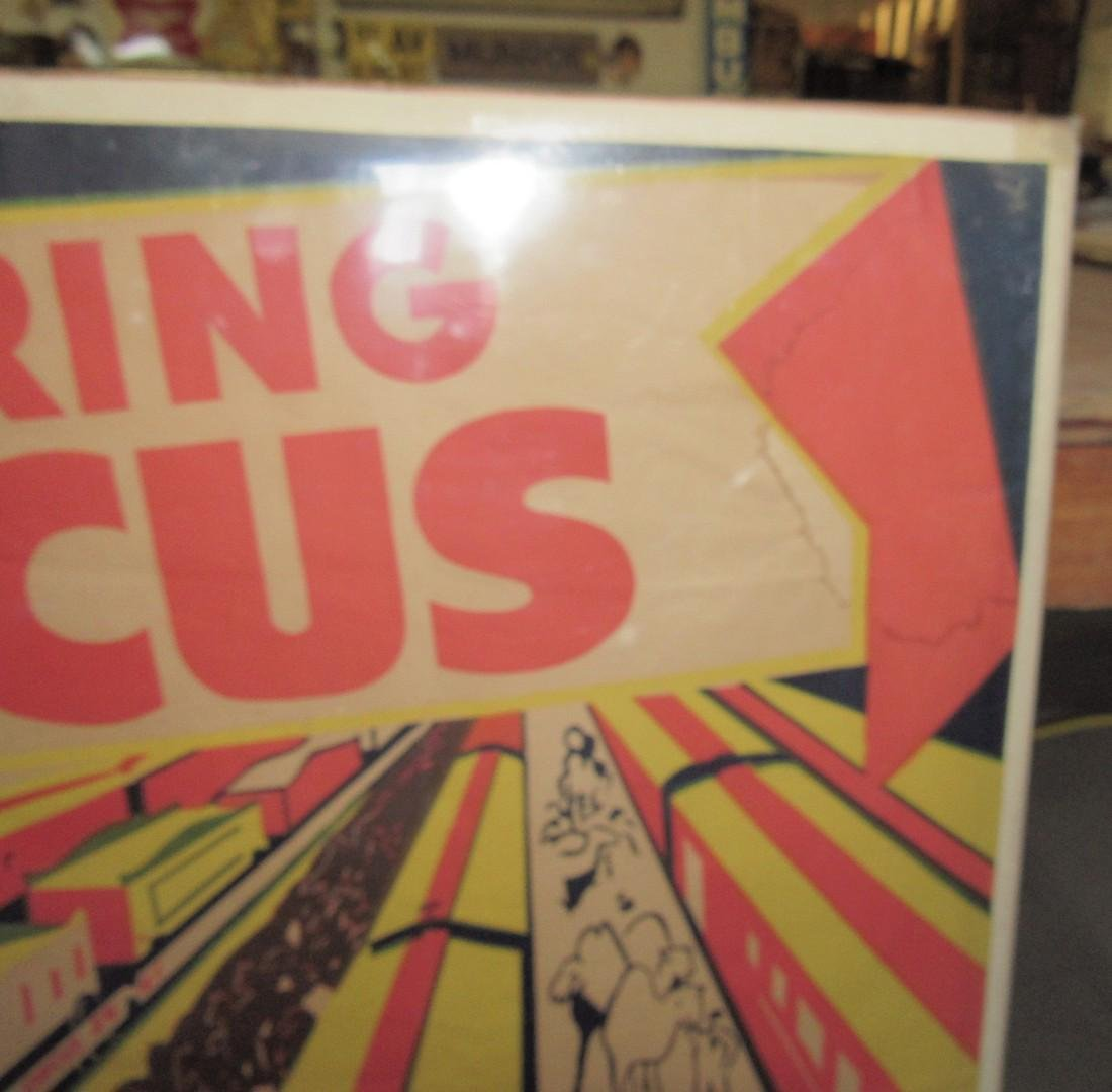 "Dailey Bros 3 Ring Circus Poster Pottstown PA 33 1/2""X - 4"