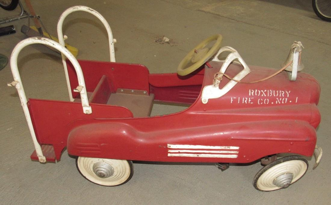 Firetruck Pedal Car Roxbury Fire Co