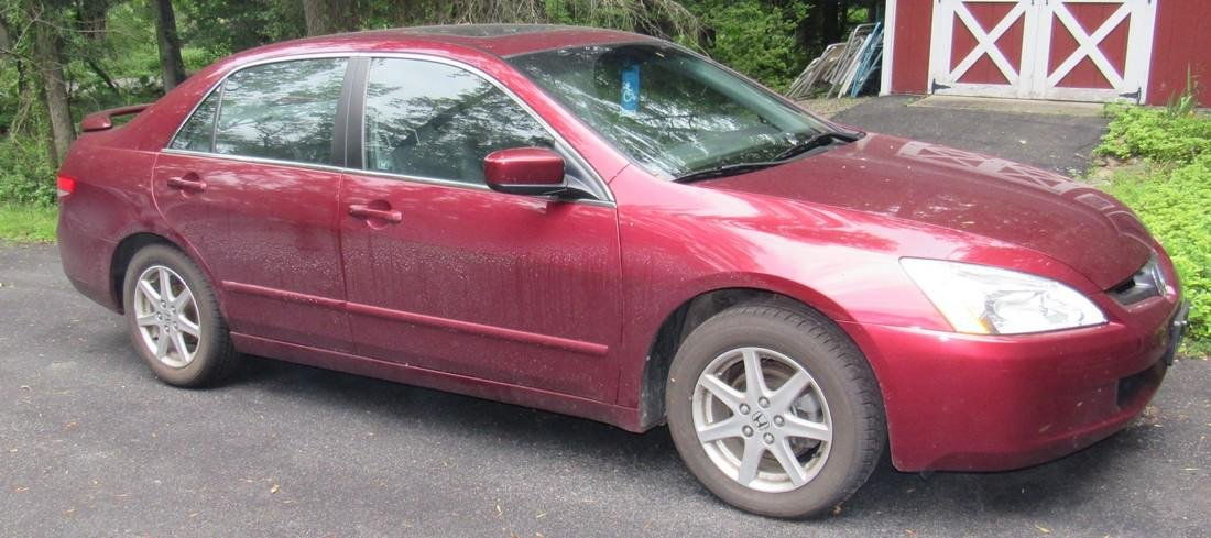2004 Honda Accord 4 Door with only 8,660 Miles