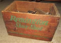 Remington Shur Shot Wooden Crate