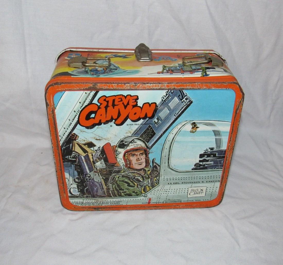 Milton Caniff Steve Canyon Aladdin Lunch Box