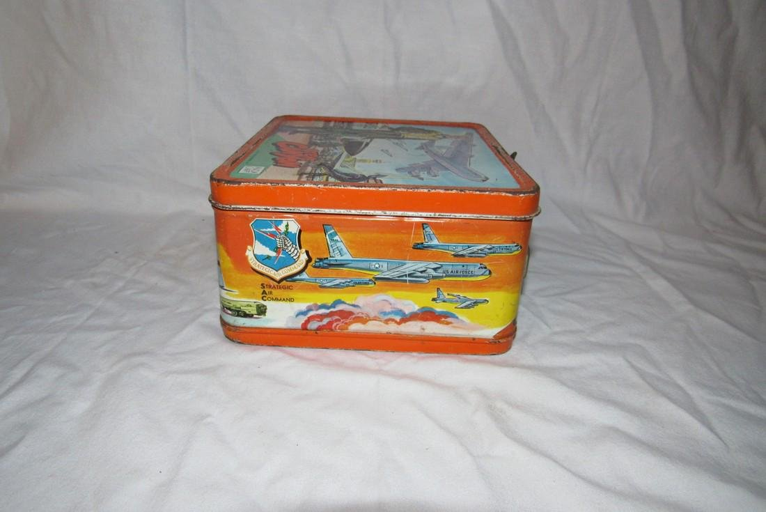 Milton Caniff Steve Canyon Aladdin Lunch Box - 2