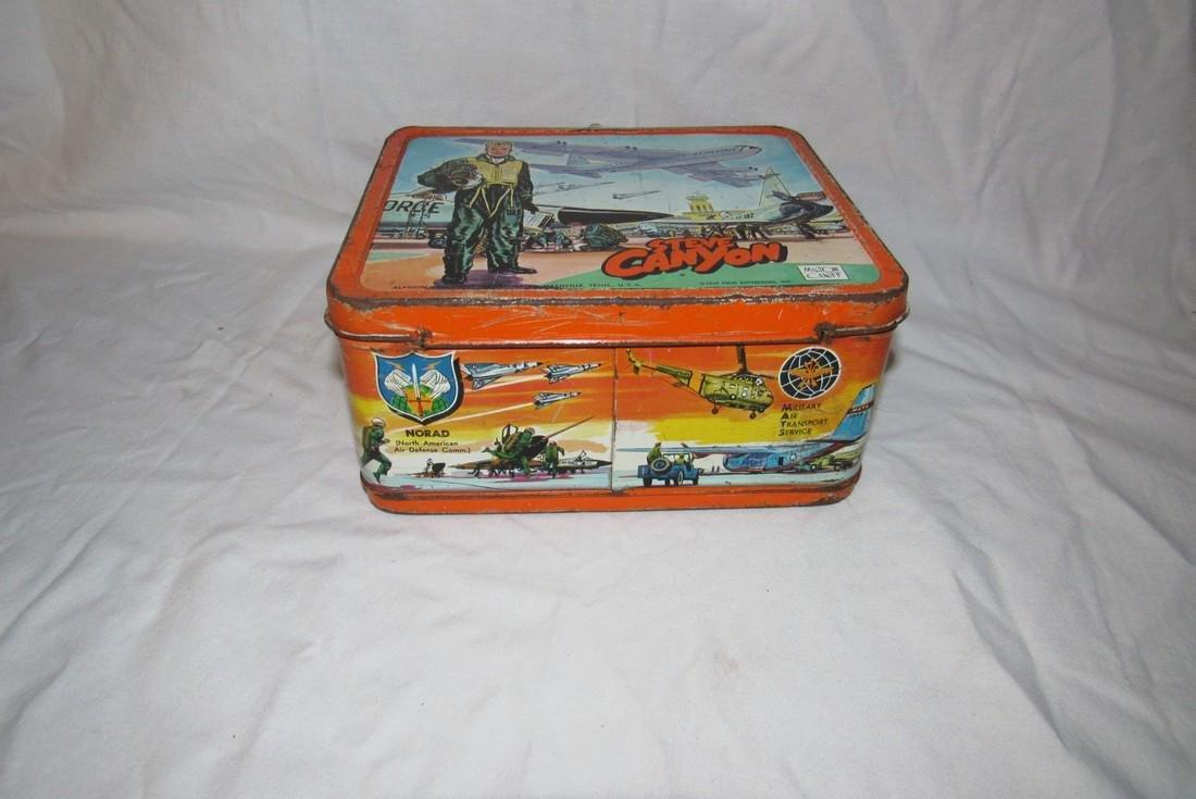 Milton Caniff Steve Canyon Aladdin Lunch Box - 3