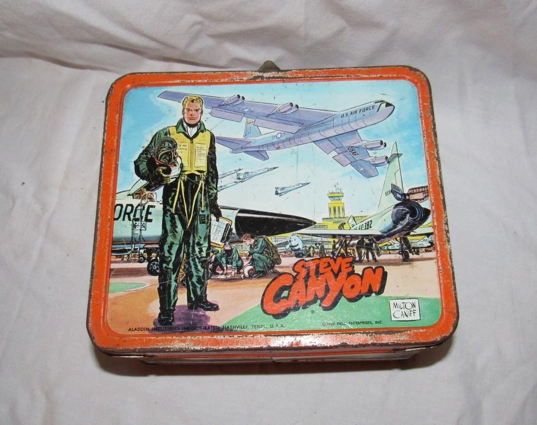 Milton Caniff Steve Canyon Aladdin Lunch Box - 4