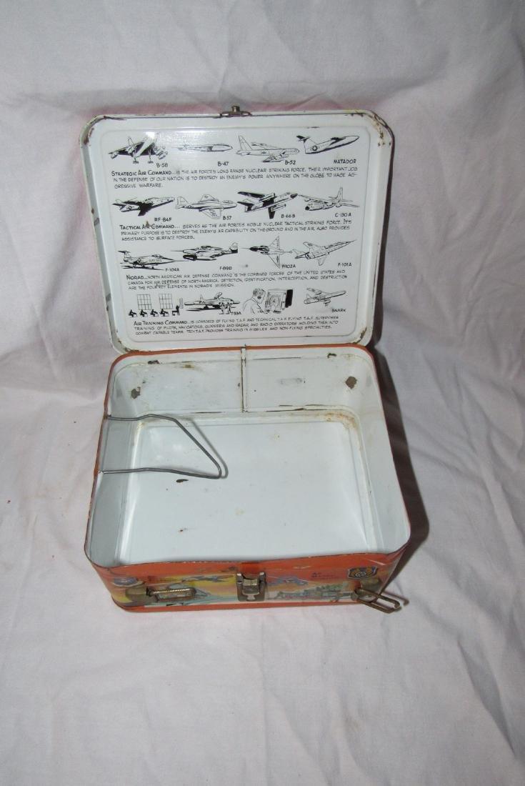 Milton Caniff Steve Canyon Aladdin Lunch Box - 5