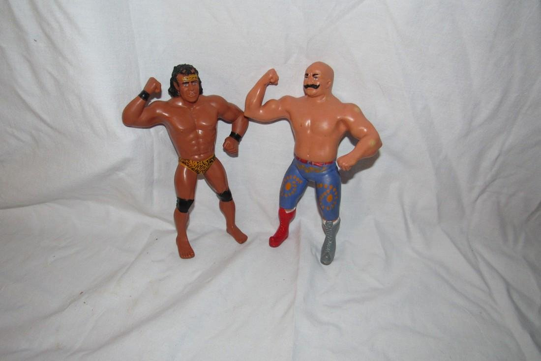 2 WWF Wrestlers Jimmy Super Fly Snuka
