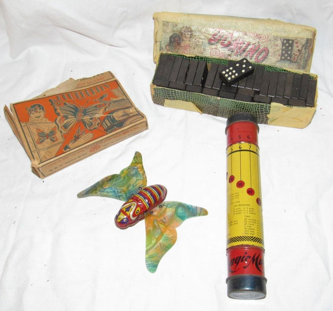 Marx Flutterfly Dominoes & Multibox