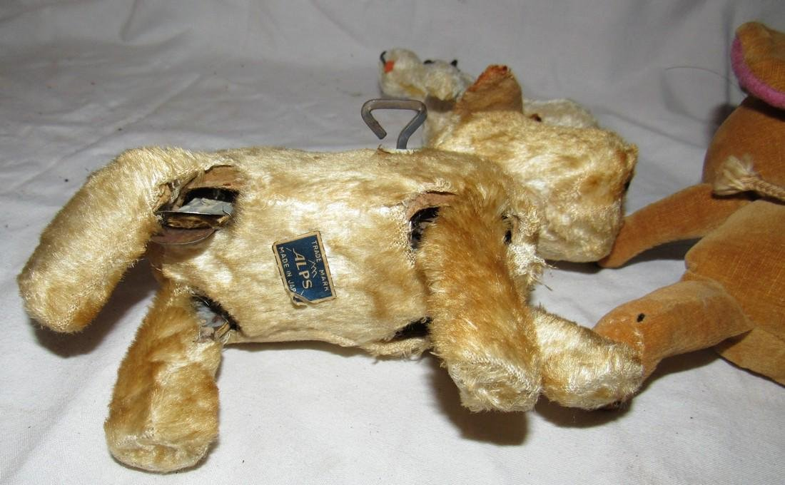Wind Up Alps Toy Dog Merry Thought Mouse - 3