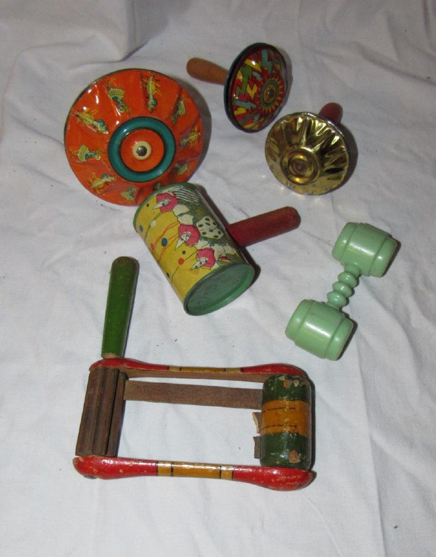 Noisemakers & Baby Rattle