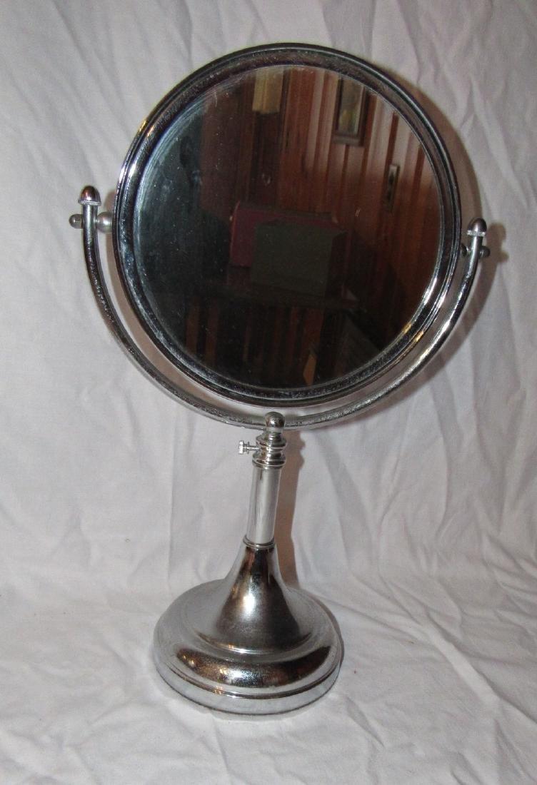 Adjustable Chrome Shaving Mirror