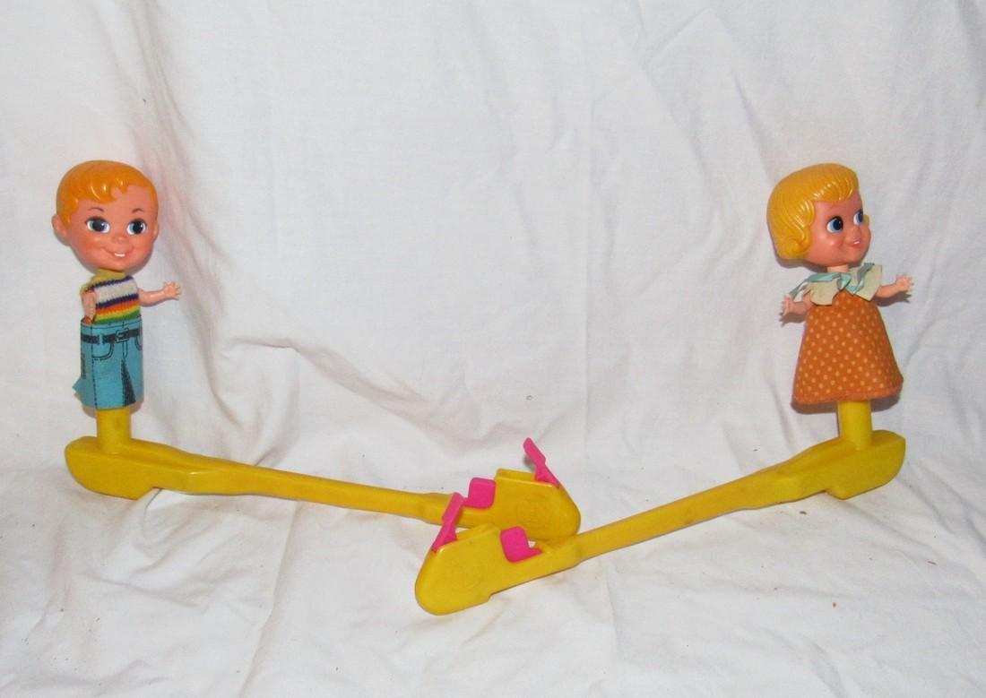 Vintage Mattel Clapping Children Toys
