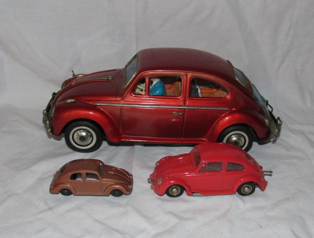 Battery Operated Wind Up & Tootsietoy Volkswagen