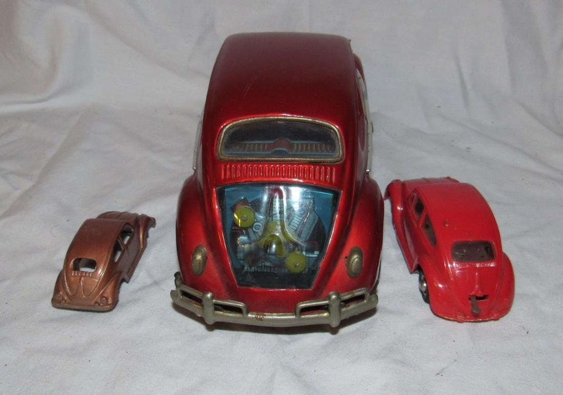 Battery Operated Wind Up & Tootsietoy Volkswagen - 3