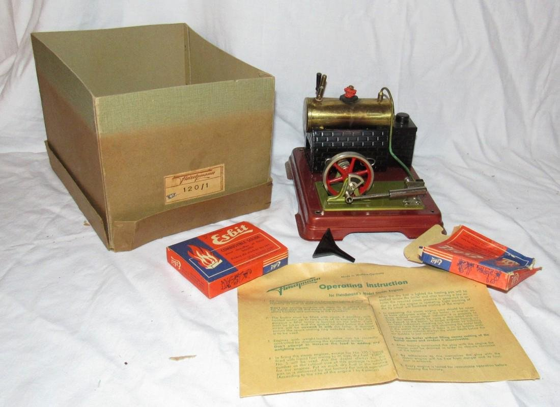Fleischmann 120/1 Steam Engine Toy