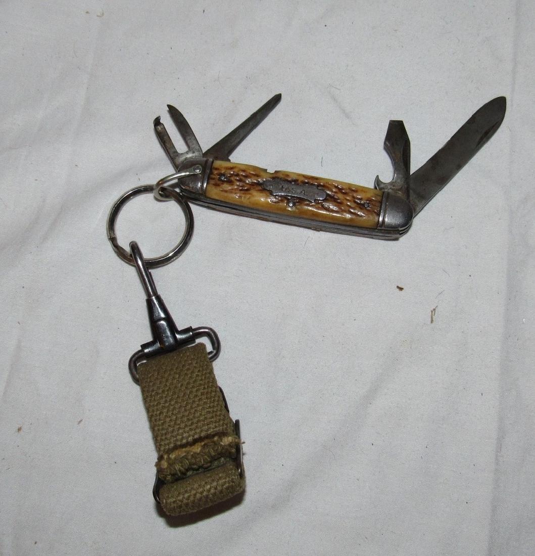 Camillus Bone Handle Pocket Knife