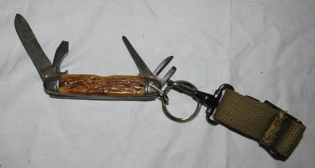Camillus Bone Handle Pocket Knife - 2