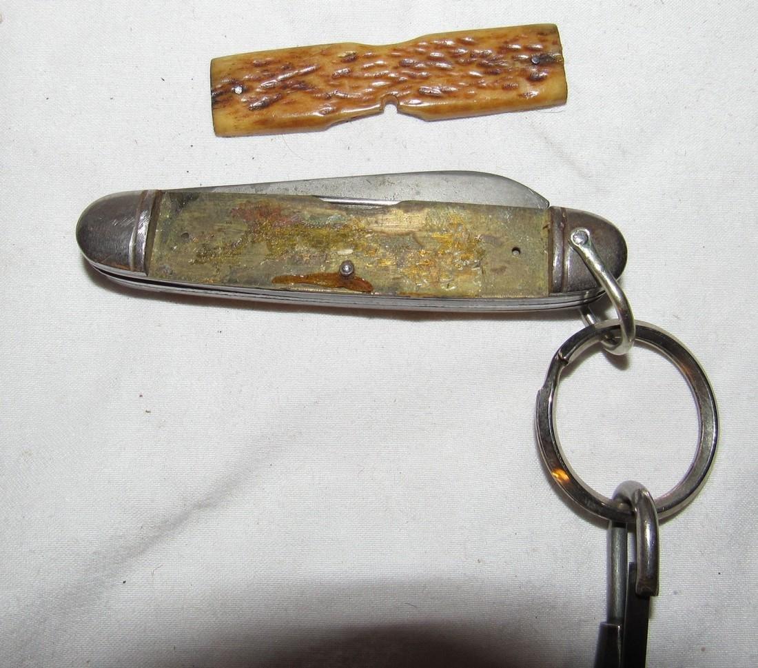 Camillus Bone Handle Pocket Knife - 5