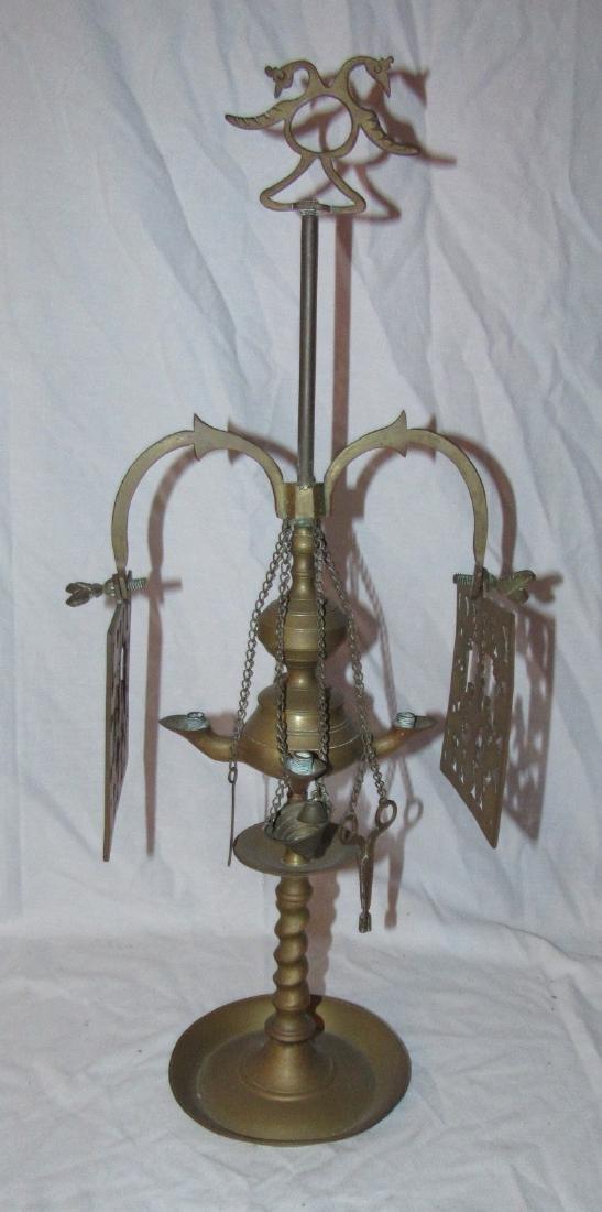 """22"""" Brass Genie Type Lamp"""