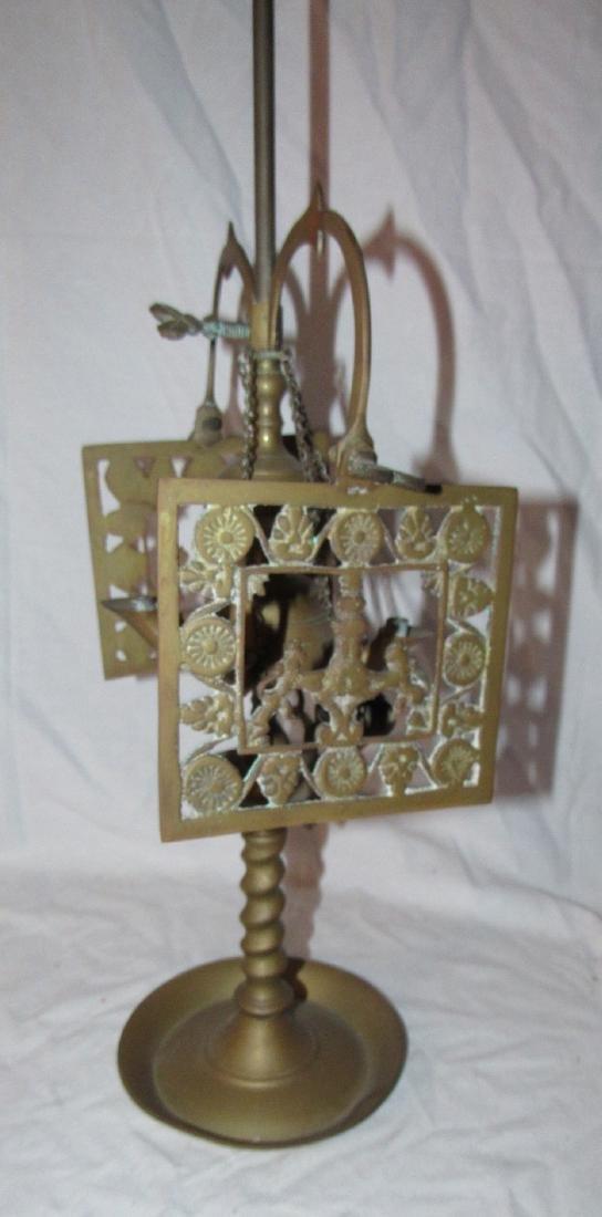 """22"""" Brass Genie Type Lamp - 3"""