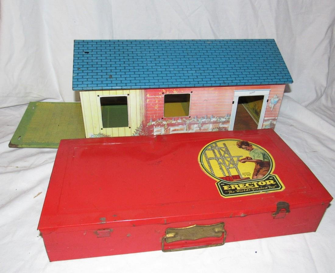 Erector 4 1/2 Set Wolverine 800 Toy Doll House